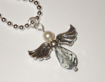 Bright Crystal, Halsband Angel no2 i gruppen Halsband hos Anna Veronica Design Collection (HA0213)